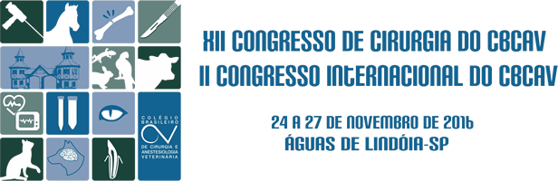 XII Congresso de Cirurgia do CBCAV e II Congresso Internacional do CBCAV